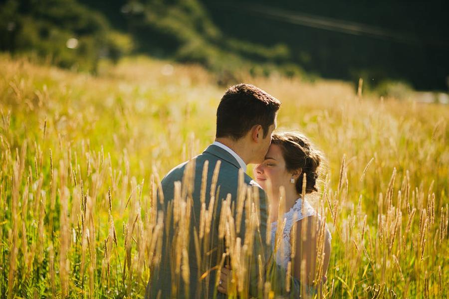 Chronique mariage lyon mariée champs