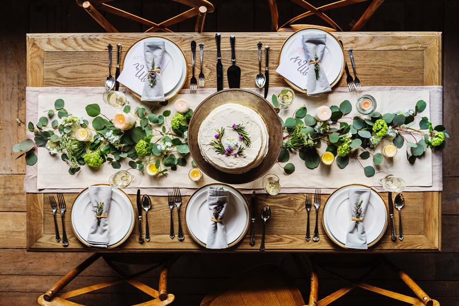 chronique-decoration-table-plan-fleur-vert