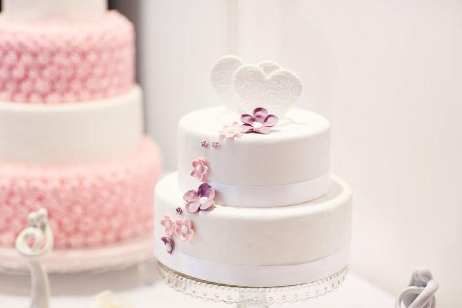 chronique wedding cake recette coeur
