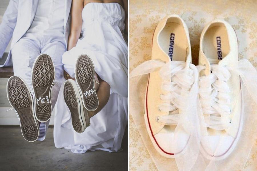 Chronique se sentir bien dans ses chaussures - baskets et converses