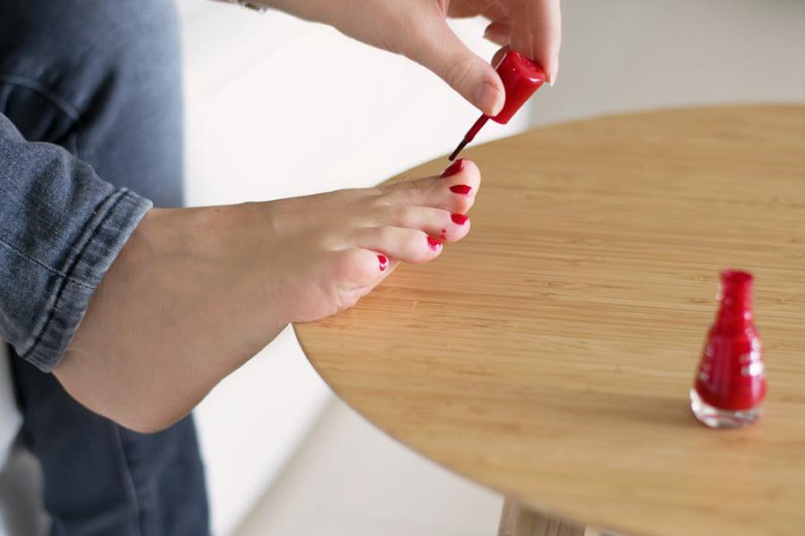 chronique beauté des ongles rouge