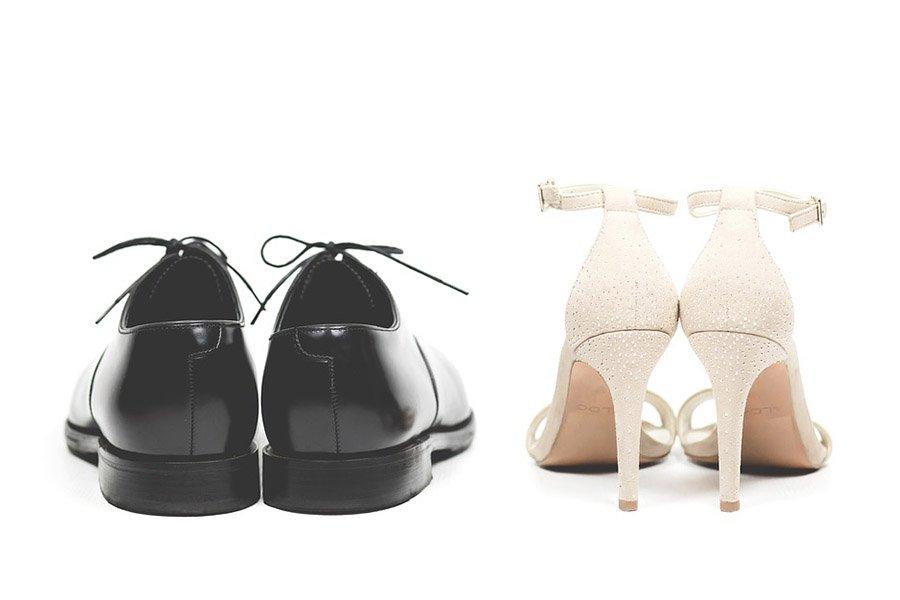 Chronique se sentir bien dans ses chaussures - mariée et demoiselle d'honneur