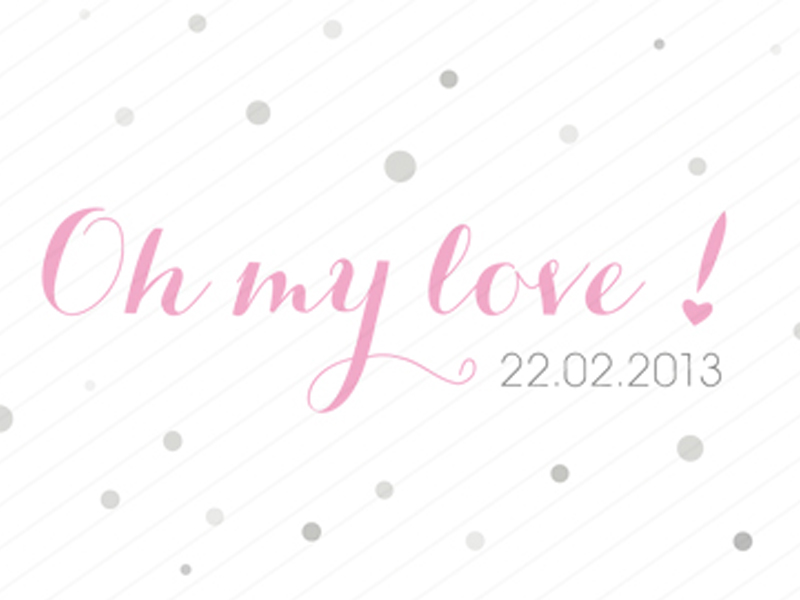 concours soirée Oh My Love, wedding planner lyon
