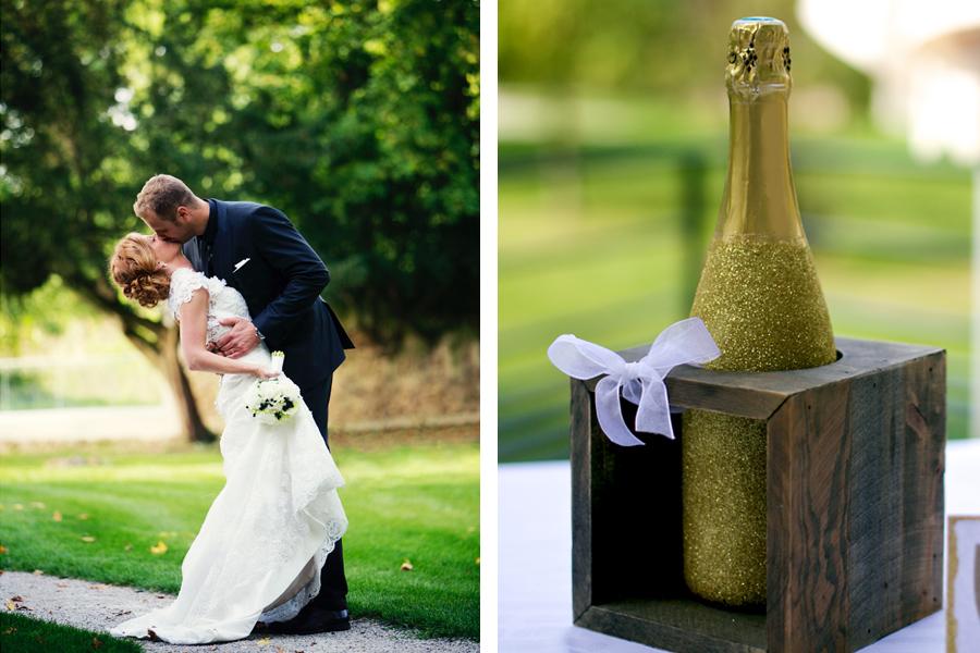deco de mariage paillettes Blanc Cortege wedding planner lyon partenaire lyon-mariage.com