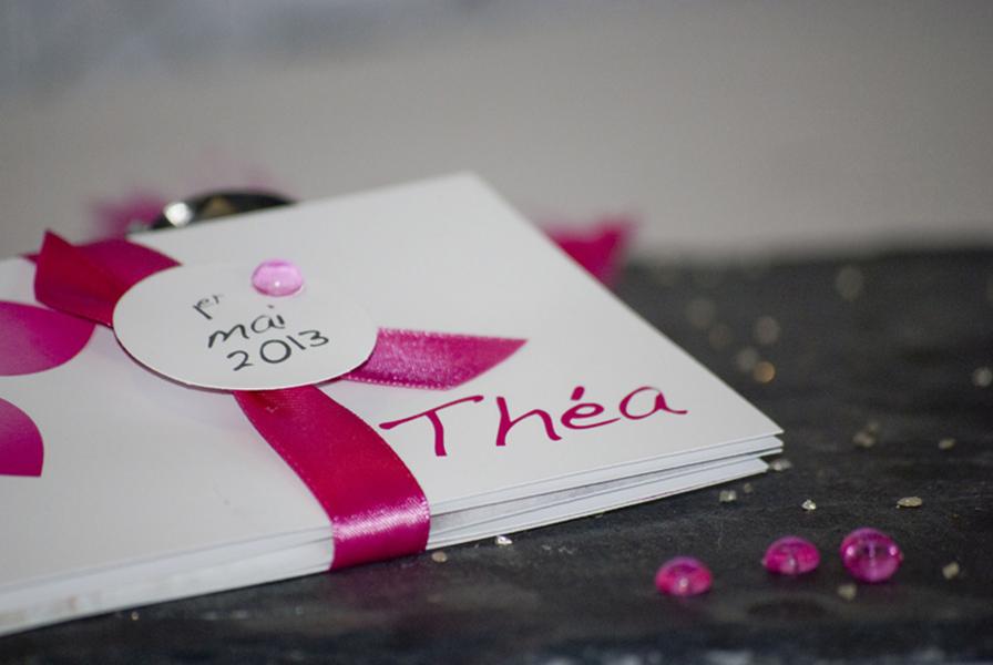 faire part vahiné fleurs tiaré par Imagiligne partenaire lyon-mariage.com