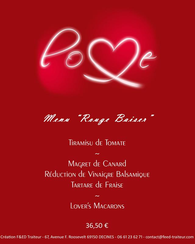 menu de st valentin livraison domicile Feed traiteur partenaire lyon-mariage.com