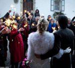 sortie cérémonie de mariage, mariage à l'église, mariage religieux, wedding planner, lyon-mariage.com