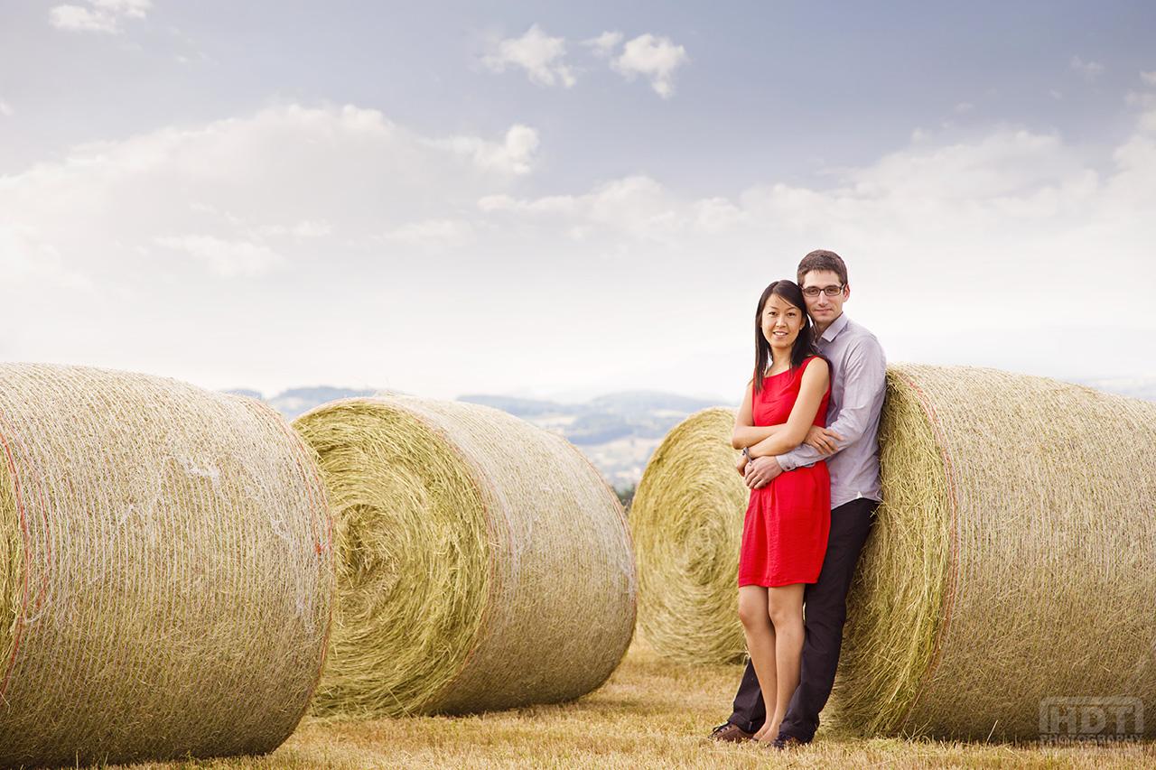 Photographe de mariage HDT Photography séance engagement campagne partenaire Lyon-mariage.com