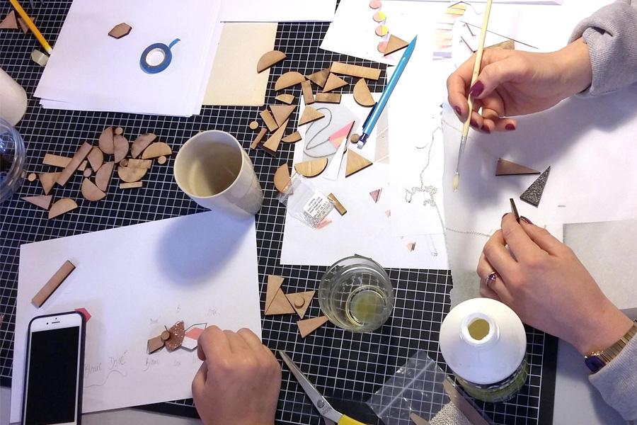 EVJF à Lyon avec les ateliers DIY Lafabriq - Partenaire Lyon-mariage.com