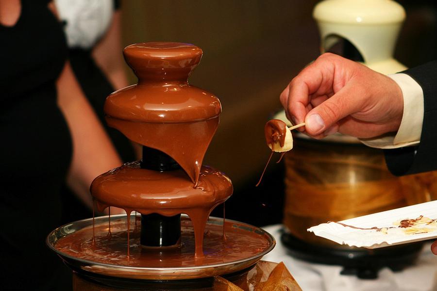Chronique générique mariage lyon bars mariage fontaine de chocolat
