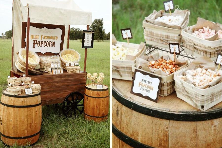 chronique bars à desserts lyon mariage popcorn