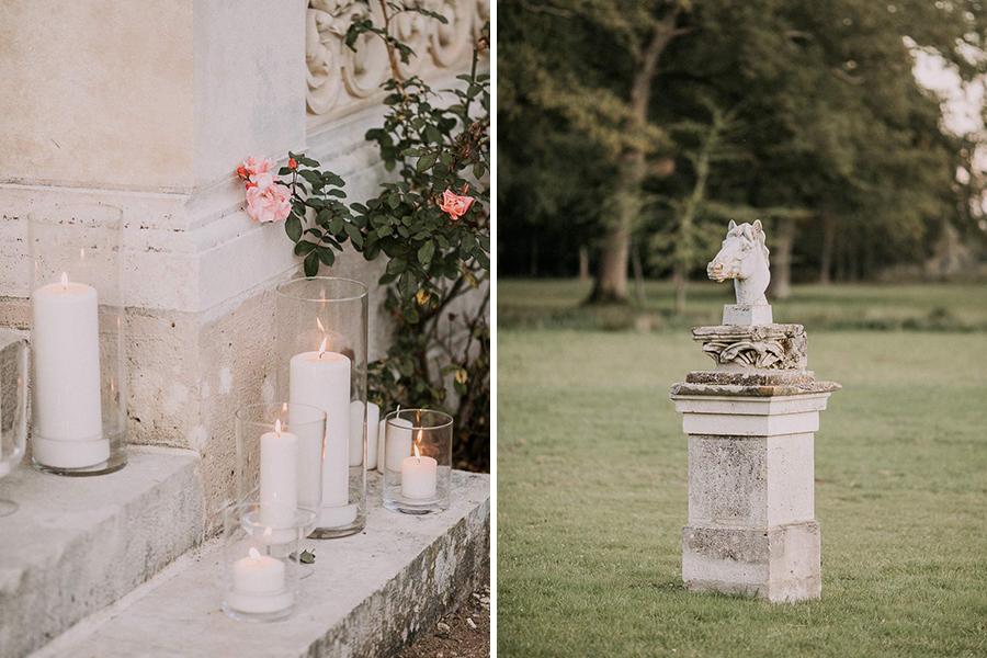 Chronique mariage Giacomelli Wedding planner décoration et bougies