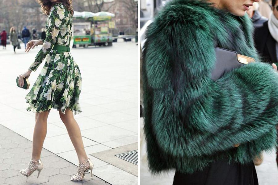 chronique-tenue-invite-hiver-robe-vert-polaire-manteau-turquoise-source-elle-belgique