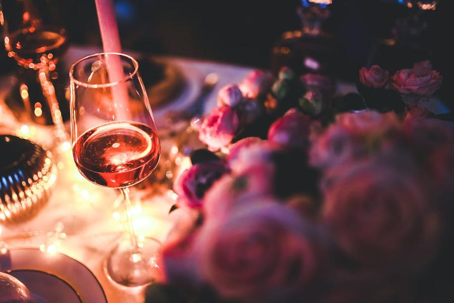 Chronique mariage 31 décembre à Lyon vin et roses
