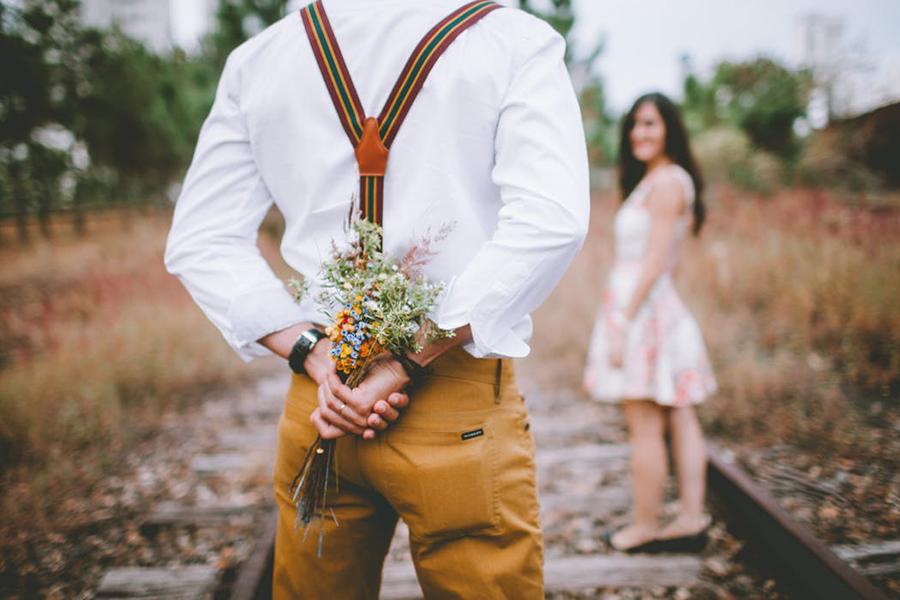 Chronique conseils pour le marié, bouquet de fleurs