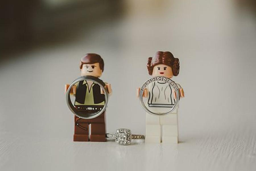 Chronique idées pour un thème mariage Star Wars - alliance lego