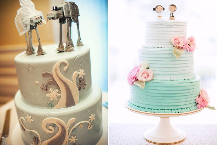 Chronique idées pour un thème mariage Star Wars - gâteaux de mariage