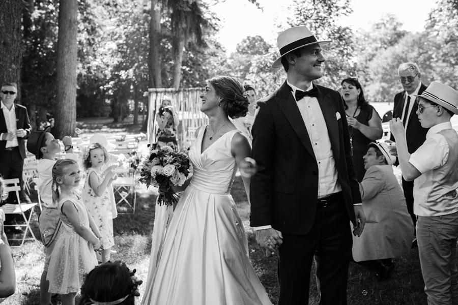 Wedding Planner à Lyon Lyloo et Maloé, arrivée des mariés
