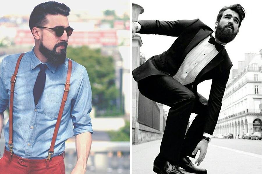 Chronique conseils barbe pour les mariés, skate et salopette