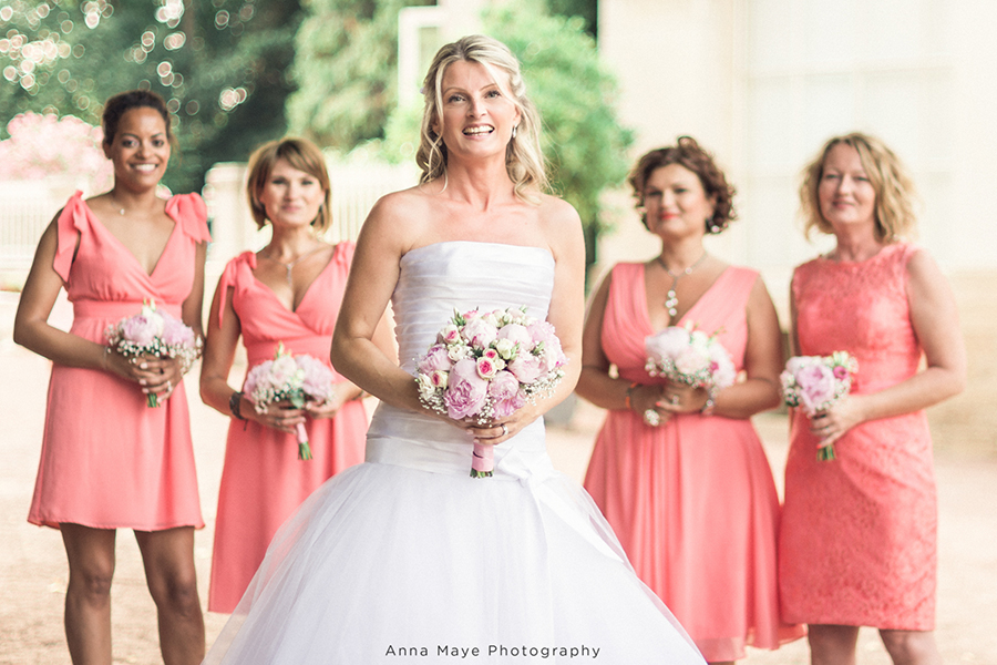 Mon joli jour wedding planner - demoiselles d'honneur et la mariée