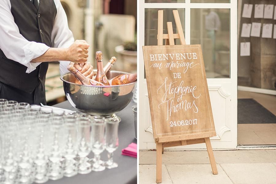 Mon joli jour wedding planner - décoration et champagne