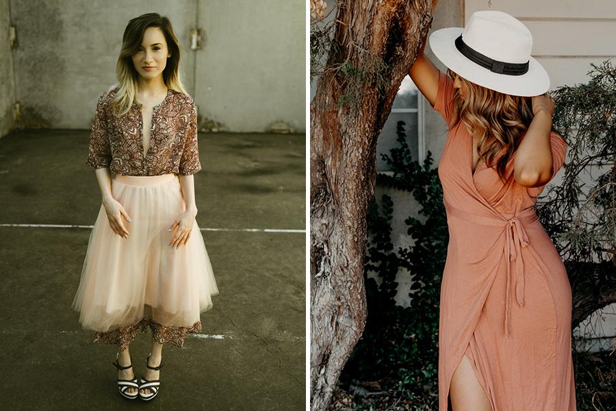 Chronique 8 conseils pour une tenue d'invitée mariage à lyon, robe rose pastel et jupon tulle rose