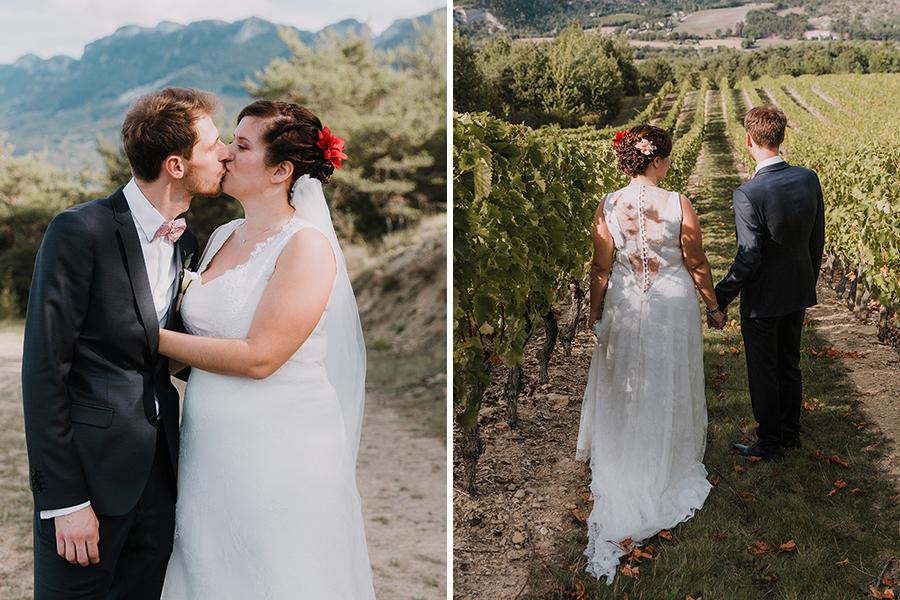Photographe lyon mariage asb photographe chronique domaine des balcons shooting photo dans les vignes