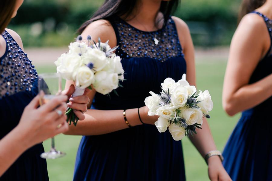 chronique demoiselle d'honneur lyon mariage robe bleue
