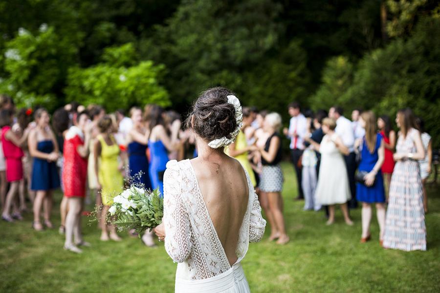 chronique demoiselle d'honneur lyon mariage cérémonie jardin