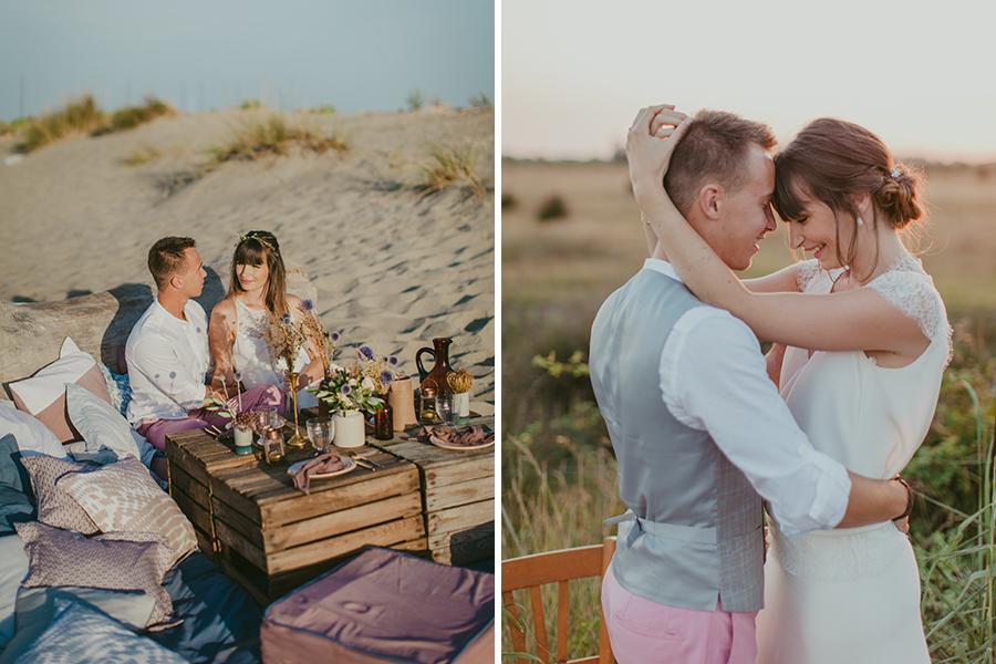 Maquilleuse et coiffeuse beauty art coiffure lyon mariage décoration fleurie plage sable tresse