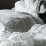 chronique conserver sa robe de mariée blanche précieuse dentelle détails