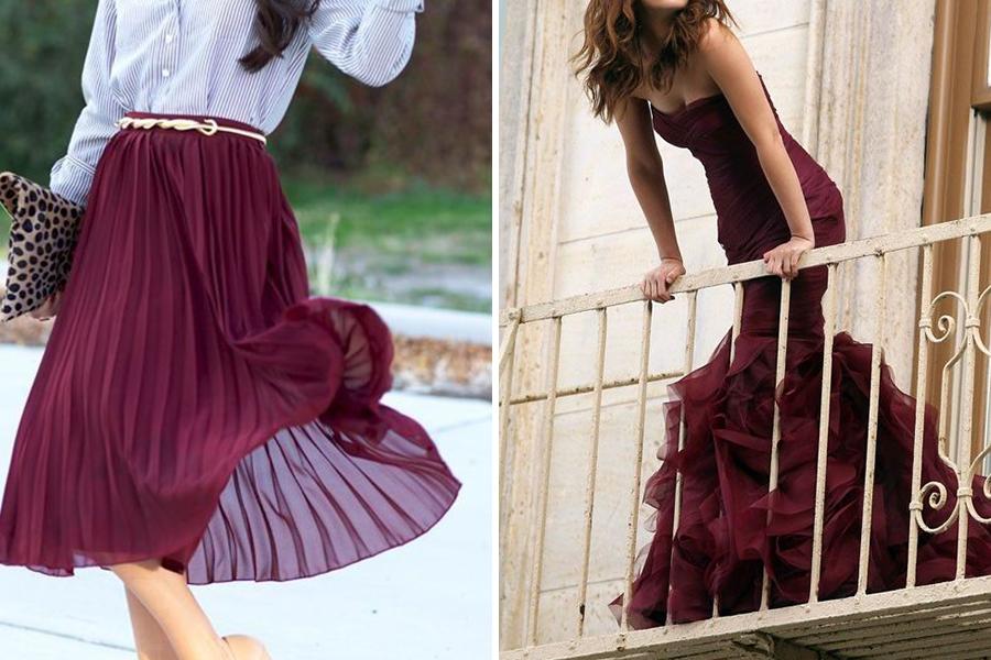 Chronique lyon mariage dress code bordeaux robe moulante tulle et jupe