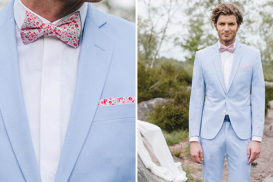 Chronique samson costume idée choisir son costume bleu clair