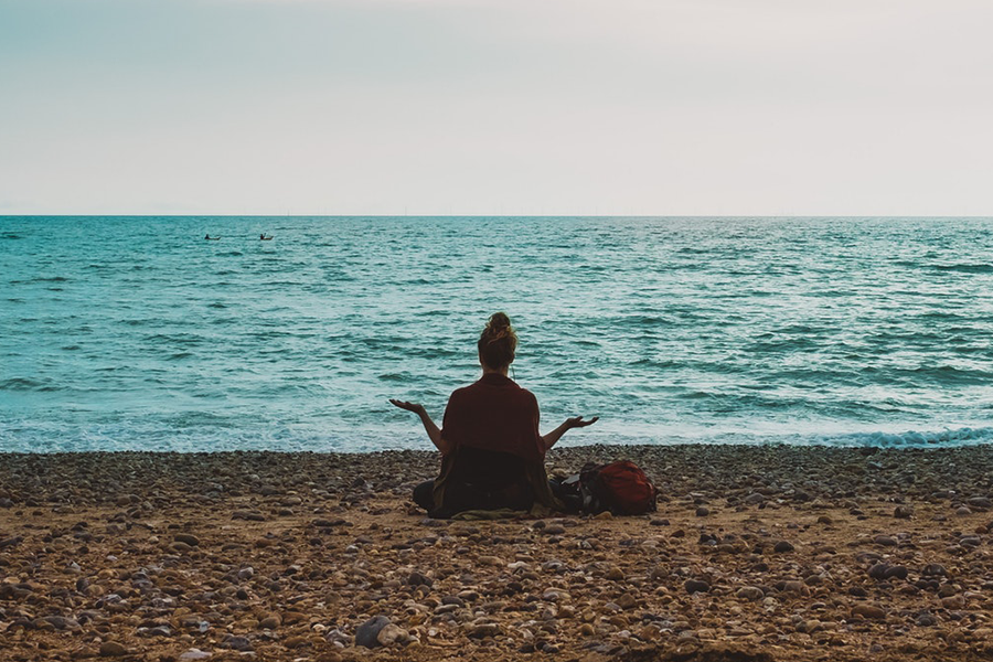 Chronique stress future mariée zen plage