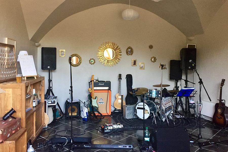 Hello You musiciens lyon mariage salle d'installation balance