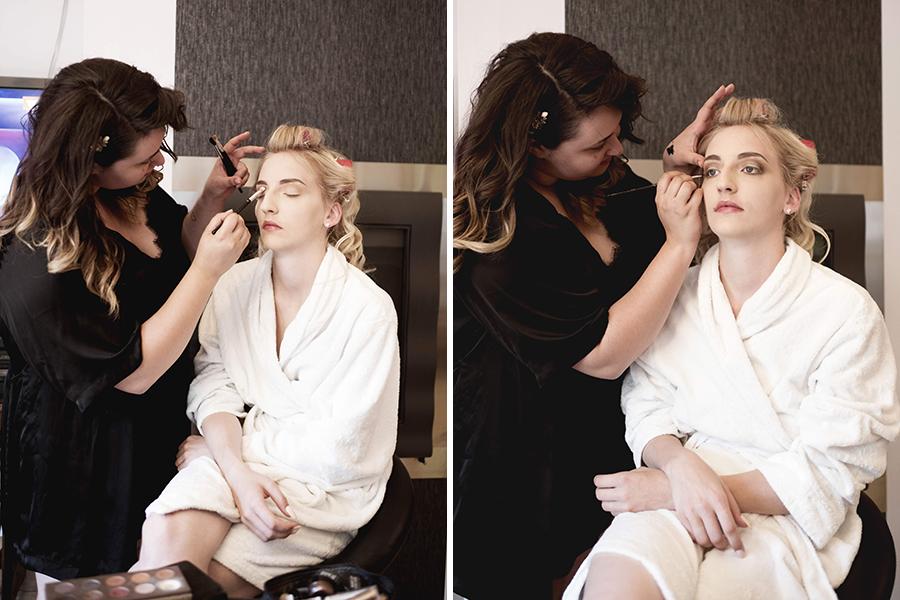 Maquillage coiffure mariage auréa jeanneau lyon mariage préparation de la mariée