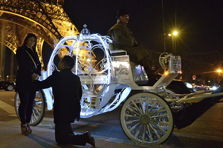 Apoteo Suprise demande en mariage x lyon mariage originales carosse Paris