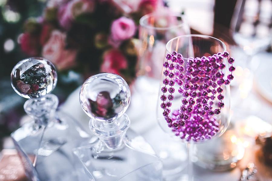 Décoration vintage fleurs fée d'effet