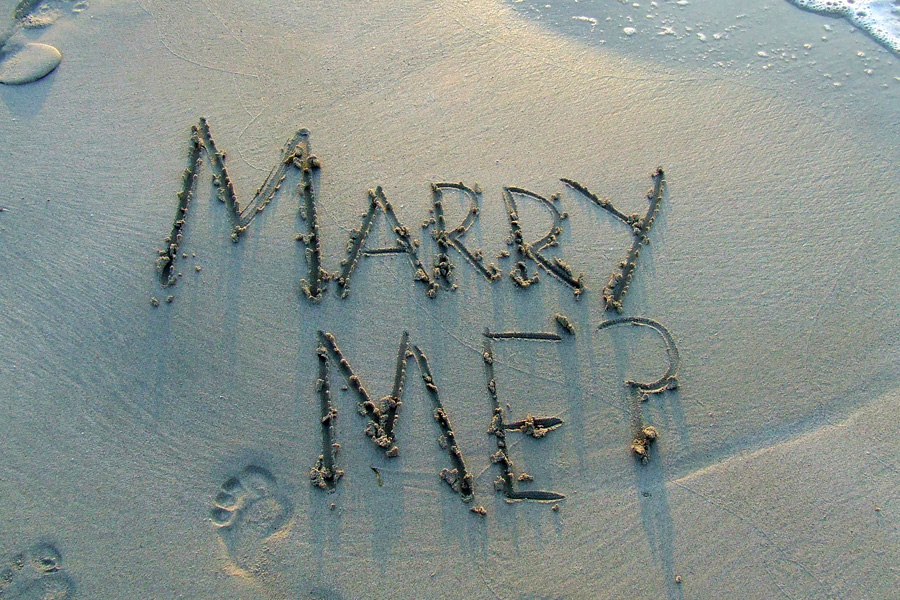 Demande en mariage originale - Idées Lyon-mariage.com