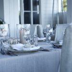 Chronique décoration mariage élégant romantique blanc et argent une