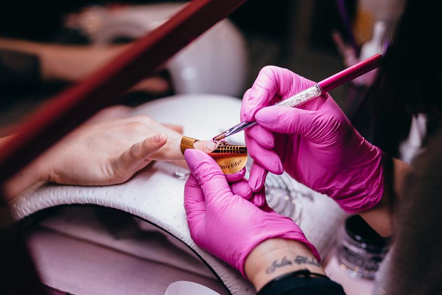 chronique beauté des ongles rouge soin