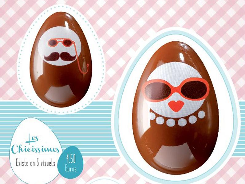 Chocolats de Pâques chez Violette & Berlingot, boutique de bonbons, chocolats et dragées à Lyon partenaire de lyon-mariage.com
