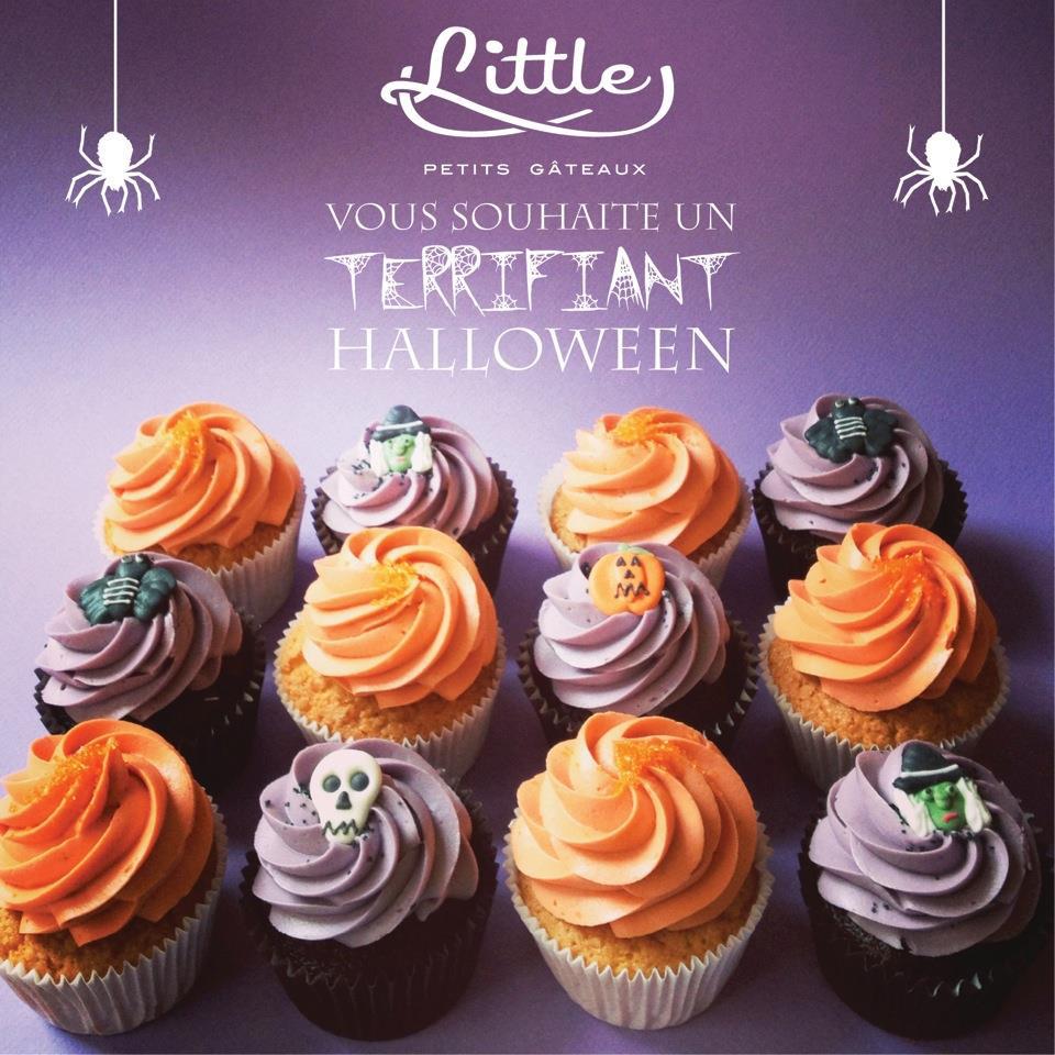 halloween cupcake Little petits gâteaux Lyon
