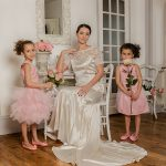 shooting mariage rose kaa couture robe mariée demoiselle d'honneur cortège partenaire lyon-mariage.com