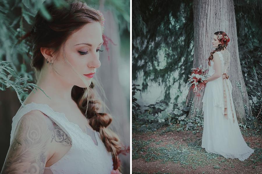 chronique-coiffure-automne-amelie-gouttenoire-foret-bois-froid-blanc-vert-lyon-mariage tendance coiffure mariage d'hiver