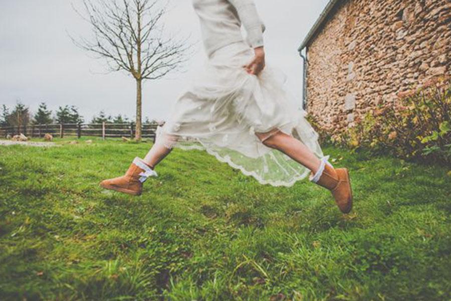 Chronique mariage à lyon chaussures d'hiver - boots hiver nature