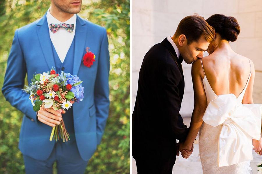 Chronique conseils pour le stress du marié bouquet de fleurs