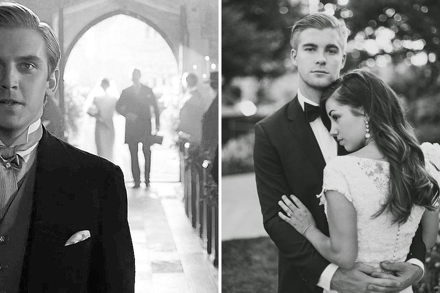 Chronique conseils pour le stress du marié entrée de la mariée et shooting