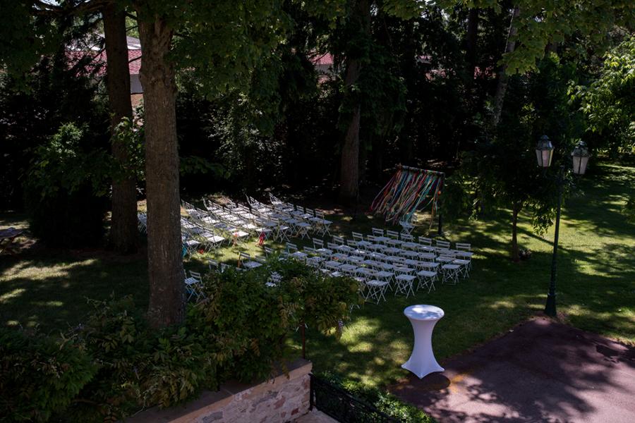 Wedding Planner à Lyon Lyloo et Maloé, décoration du lieu de cérémonie