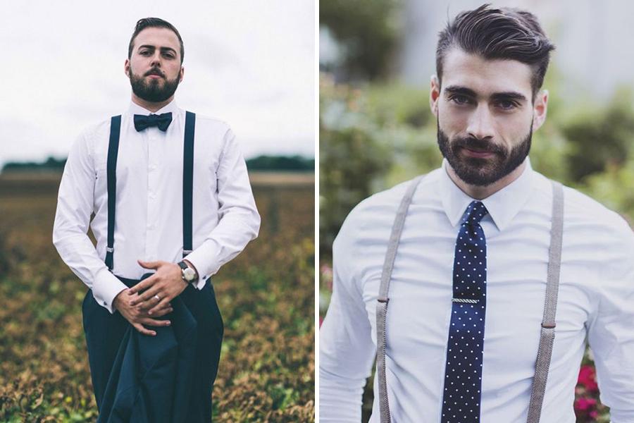Chronique conseils barbe pour les mariés, chemise blanche
